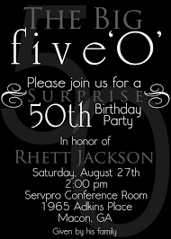 50th birthday invitations free printable free surprise 50th birthday party invitations templates