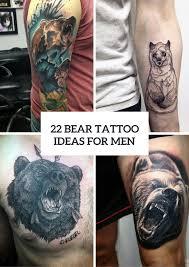 22 Bear Tattoo Ideas For Real Men Styleoholic