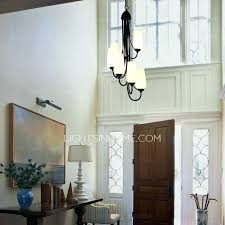 modern foyer lighting image rustic