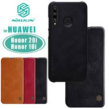for Huawei Honor 20i <b>Case NILLKIN</b> Qin Business Flip Leather ...