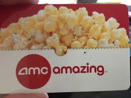 amc theatres gift card 45 00 pic