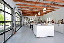 interior garage door26 Glass Garage Door Ideas To Rock In Your Interiors  DigsDigs