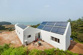 Small Picture Sosoljip is a Self Sufficient Net Zero Energy House in South Korea