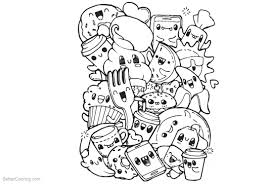 Cute Food Coloring Pages Clipart Free Printable Coloring Pages