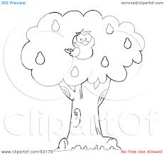 Small Picture Pear tree coloring pages download and print for free