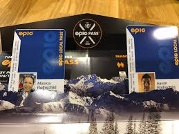 "Aaron Rothschild on Twitter: ""I just got my ski passes for the year.  Compare the welcome packages you get. @IkonPass gave my kids a pass,  stickers, map, lanyards. @epicpassclub stretched my picture,"