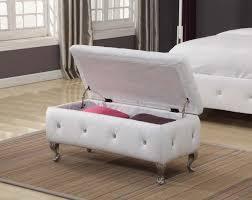 ottoman designs furniture. Amazon.com: Kings Brand Furniture White Vinyl Tufted Design Upholstered Storage Bench Ottoman: Kitchen \u0026 Dining Ottoman Designs C