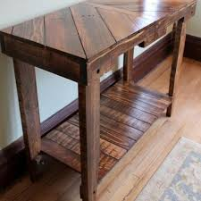 wood pallet furniture. Wood Pallet Table Sofa Console Furniture