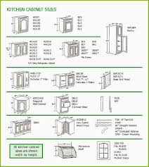 Kitchen Cabinet Sizes Chart New Base Dimensions Cabinets