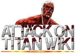 Image - Attack on Titan Wiki Logo - Welcome.png | Lv-naruto Wikia ...