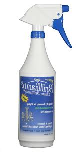 photo 1 of 6 brilliante crystal chandelier cleaner manual sprayer 32oz environmentally safe ammonia free drip