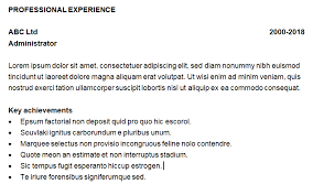 Effective Use Of White Space In A Cv The Cv Store Blog