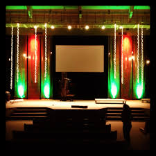 Church Stage Design Ideas bubble wrap church stage idea also stairs for the alters idea