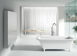 bathroom bathroom modern ideas with freestanding tubs and white curtains plus bench jacuzzi bathtub dimensions
