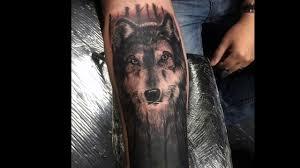 эскизы фото тату волка на