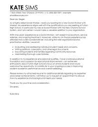 cover letter for social work job best social worker cover letter examples livecareer