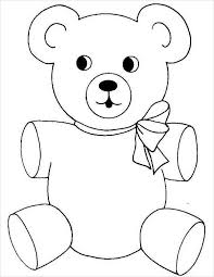 Small Picture 9 Teddy Bear Coloring Pages JPG Ai Illustrator Download