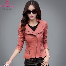 leather womens leather jacket jacket jacket short spring women s big size sheepskin and coat female