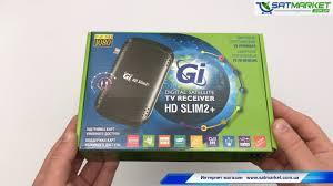 Видео обзор <b>GI HD SLIM</b> 2 PLUS (Galaxy Innovations) - YouTube