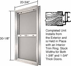 crl satin anodized 20 3 4 x 30 1 8 bel air plaza combination door unit with obscure tempered glasill frame for 1 3 4 2 6 slab door com