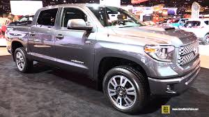 2018 toyota tundra. wonderful toyota 2018 toyota tundra trd sport  exterior and interior walkaround 2017  chicago auto show youtube inside toyota tundra