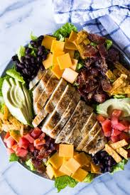 grilled chicken salad. Contemporary Salad Southwest Grilled Chicken Salad With Candied Bacon This Salad Is Loaded  Grilled Chicken On D