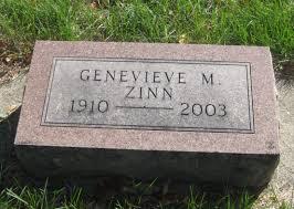 Genevieve Marie Hudson Zinn (1910-2003) - Find A Grave Memorial