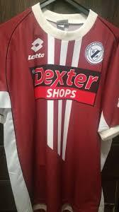 Deportivo Merlo Visitante Camiseta de Fútbol 2003 - ?. Sponsored by Dexter  Shops