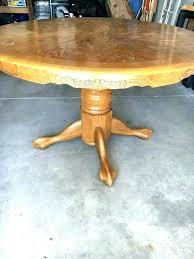 antique oak pedestal table value antique oak pedestal table dining inch round vintage value with leaf antique oak pedestal table value