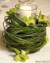 Easter  green-table-piece