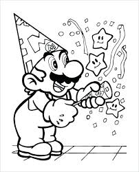 Smartness Mario Kart Printable Coloring Pages Brother Free 8 Coloring