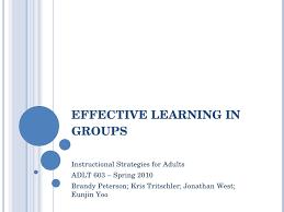 Effective Group Learning Presentation Ppt 03 V0 6