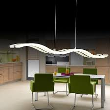 linear suspended lighting. fine linear aliexpresscom  buy modern wave linear led pendant light for kitchen  island dinning room suspension hanging acrylic ceiling lamp ac85 260v from reliable  in suspended lighting
