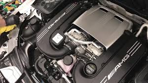 Mercedes-Benz C63 AMG Engine bay detail - YouTube