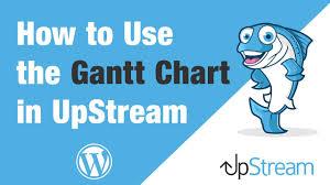 Wordpress Gantt Chart Plugin The Gantt Chart In Upstream Wordpress Project Managment
