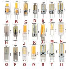 <b>10PCS</b> G4 <b>G9 LED Bulb</b> AC DC12V 110V 220V <b>Dimmable</b> Warm ...