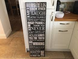 british home stores house rules wall art  on house rules wall art suppliers with british home stores house rules wall art in york north