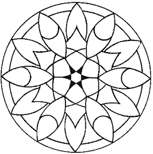 Small Picture Free Mandala Coloring Pages Coloring Lab