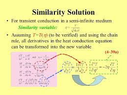 33 similarity solution for transient conduction