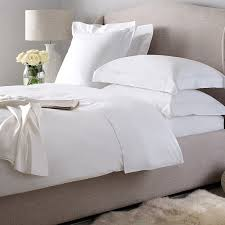 hotel plain percale double bed sheet 210 tc 90 x 100