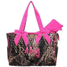 Personalized Diaper Bag Camouflage Mossy Oak Pink Quilted 2 pc ... & Personalized Diaper Bag Camouflage Mossy Oak Pink Quilted 2 pc Monogrammed.  $36.99, via Etsy Adamdwight.com