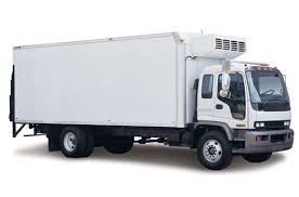refrigerator truck. reefer trailer: transport perishable freight, medicine and so on. refrigerator truck