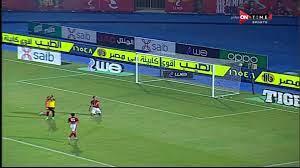 أهداف مباراة الأهلي والإنتاج الحربي بالدوري - اليوم السابع