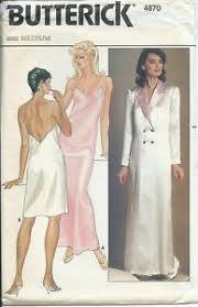 Robe Sewing Pattern Awesome B 48 Sewing Pattern 48's LINGERIE Elegant NIGHTGOWN ROBE Sew Size