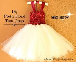 at tulle dress toddler diy