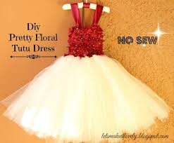 at tulle dress toddler diy