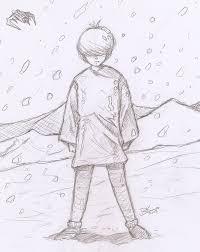 Photos sketch art of sad boy drawing art gallery sad boy sketch sadboy snow sketch by