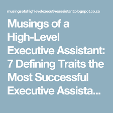 Interview Questions For Executive Assistants Musings Of A High Level Executive Assistant 7 Defining