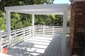 deck renovation part 2 painting the deck