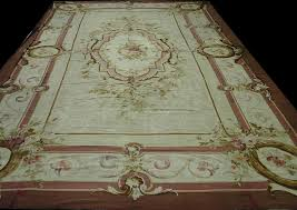 antique french aubusson rugcirca 1860 15 x23 rug eu26840